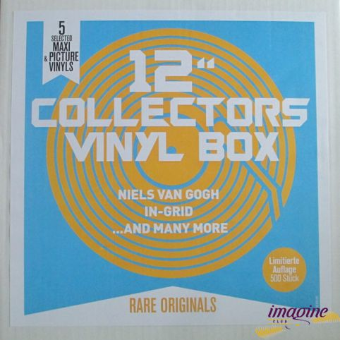"""12"""" Collectors Vinyl Box Various Artists"""