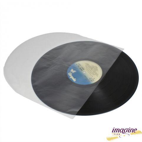 """Конверт внутренний Полукруглый 12"""" Vinyl Plastic Record Inner Sleeves 20 штук"""