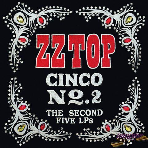 Cinco No.2 Second Five LPs ZZ Top