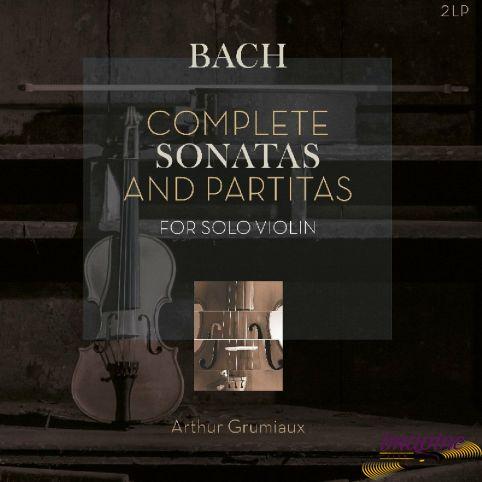Complete Sonatas And Partitas For Solo Violin Bach Johann Sebastian