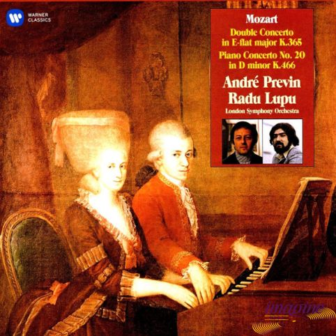 Double Concerto, Piano Concerto No.20 Mozart Wolfgang Amadeus