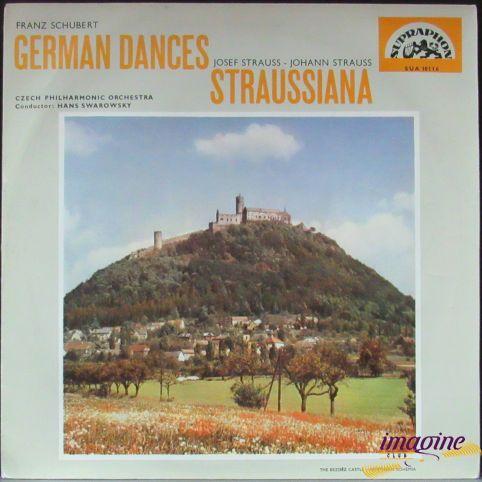 German Dances/Straussiana Czech Philharmonic Orchestra