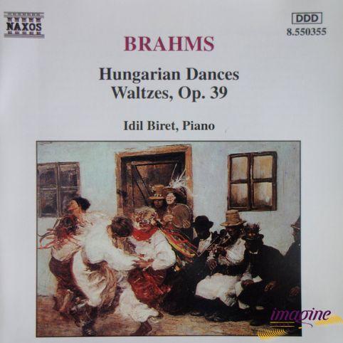 Hungarian Dances Waltzes Brahms Johannes