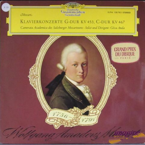 Klavierkonzerte G-Dur KV 453/C-DUR KV 467 Mozart Wolfgang Amadeus