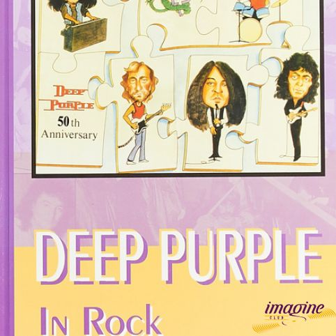 Книга Deep Purple In Rock