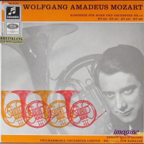 Konzerte Fur Horn Und Orchester Nr. 1-4 Mozart Wolfgang Amadeus