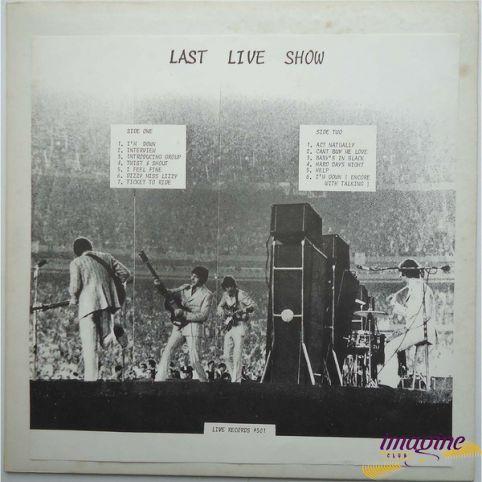 Last Live Show Beatles