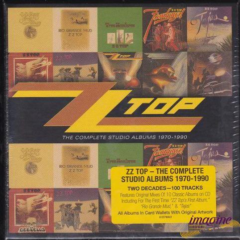 Complete Studio Albums 1970-1990 ZZ Top