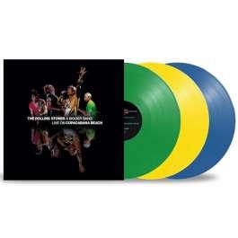 A Bigger Bang Live On Copacabana Beach 2006 - Coloured Rolling Stones
