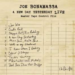 A New Day Yesterday Live Bonamassa Joe