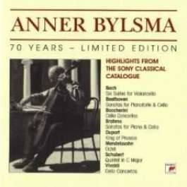 70 Years (Highlights From The Sony Classical Catalogue) Bylsma Anner