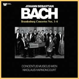 Brandenburg Concertos Nos. 1-6 Bach Johann Sebastian