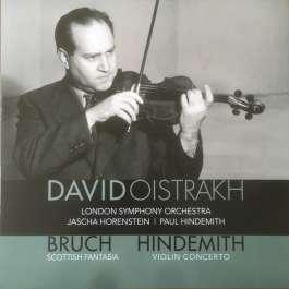 Bruch - Scottish Fantasia/Hindemith - Violin Concerto Oistrakh David