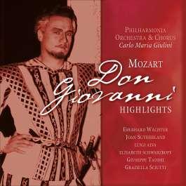 Don Giovanni Highlights Mozart Wolfgang Amadeus