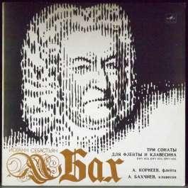 Три Сонаты Для Флейты И Клавесина BWV 1033/BWV 1034/BWV 1035 Бах Иоганн Себастьян