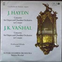 Historicke Organy Haydn Joseph/Vanhal J.K.
