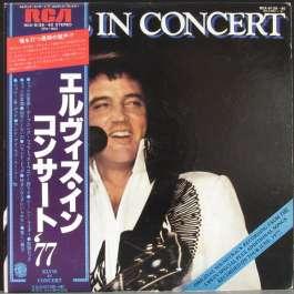 Elvis In Concert Presley Elvis