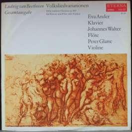 Gesamtausgabe Volksliedvariationen Beethoven Ludwig Van