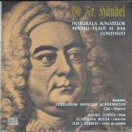 Integrala Sonatelor Pentru Flaut Si Bas Continuu Handel George Frideric
