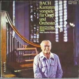 Kantaten Vorspiele Fur Orgel Bach Johann Sebastian