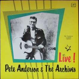 Live Anderson Pete & Archives
