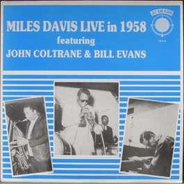 Live In 1958 Davis Miles