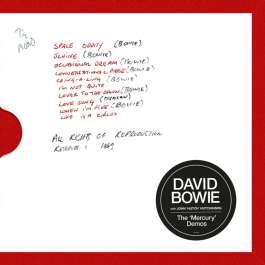 Mercury Demos Bowie David