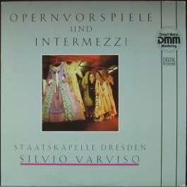Opernvorspiele Und Intermezzi Staatskapelle Dresden Silvio Varviso