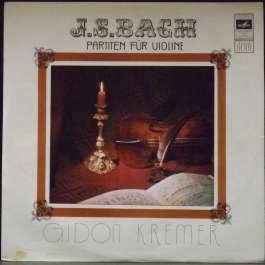 Partiten Fur Violine Bach Johann Sebastian