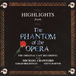 Phantom Of The Opera Webber Andrew Lloyd