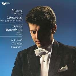 Piano Concertos 9, 19, 20, 21, 23 & 24 Mozart Wolfgang Amadeus