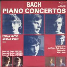 Piano Concertos Bach Johann Sebastian