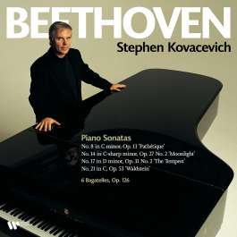 Piano Sonatas 8-14-17-21 Beethoven Ludwig Van