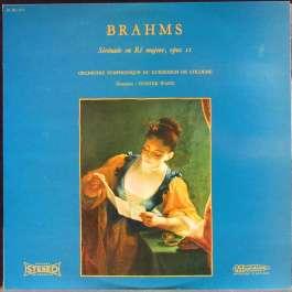 Serenade En Re Majeur Opus II Brahms Johannes