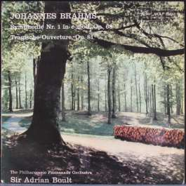 Symphonie Nr.1 In C-Moll Op.86/Tragische Ouverture Op.81 Brahms Johannes