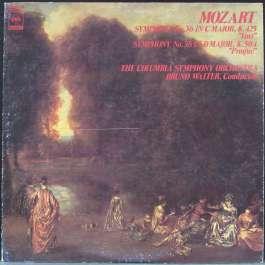 Symphony No.36, 38 Mozart Wolfgang Amadeus