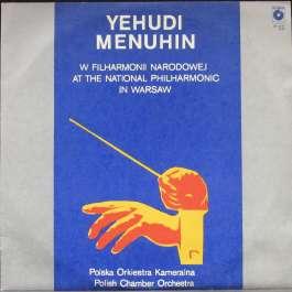 W Filharmonii Narodowej Menuhin Yehudi