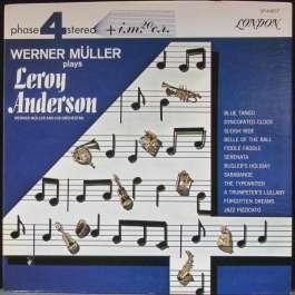 Werner Müller Plays Leroy Anderson Muller Werner