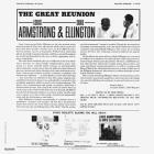 Great Reunion Armstrong Louis & Ellington Duke