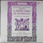 Il Primo Libro De' Madrigali Mosto Giovanni Battista