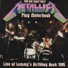 Live At Lemmy's Birthday Bash 1995 Metallica