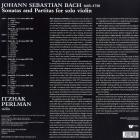 Sonaten & Partiten Bach Johann Sebastian