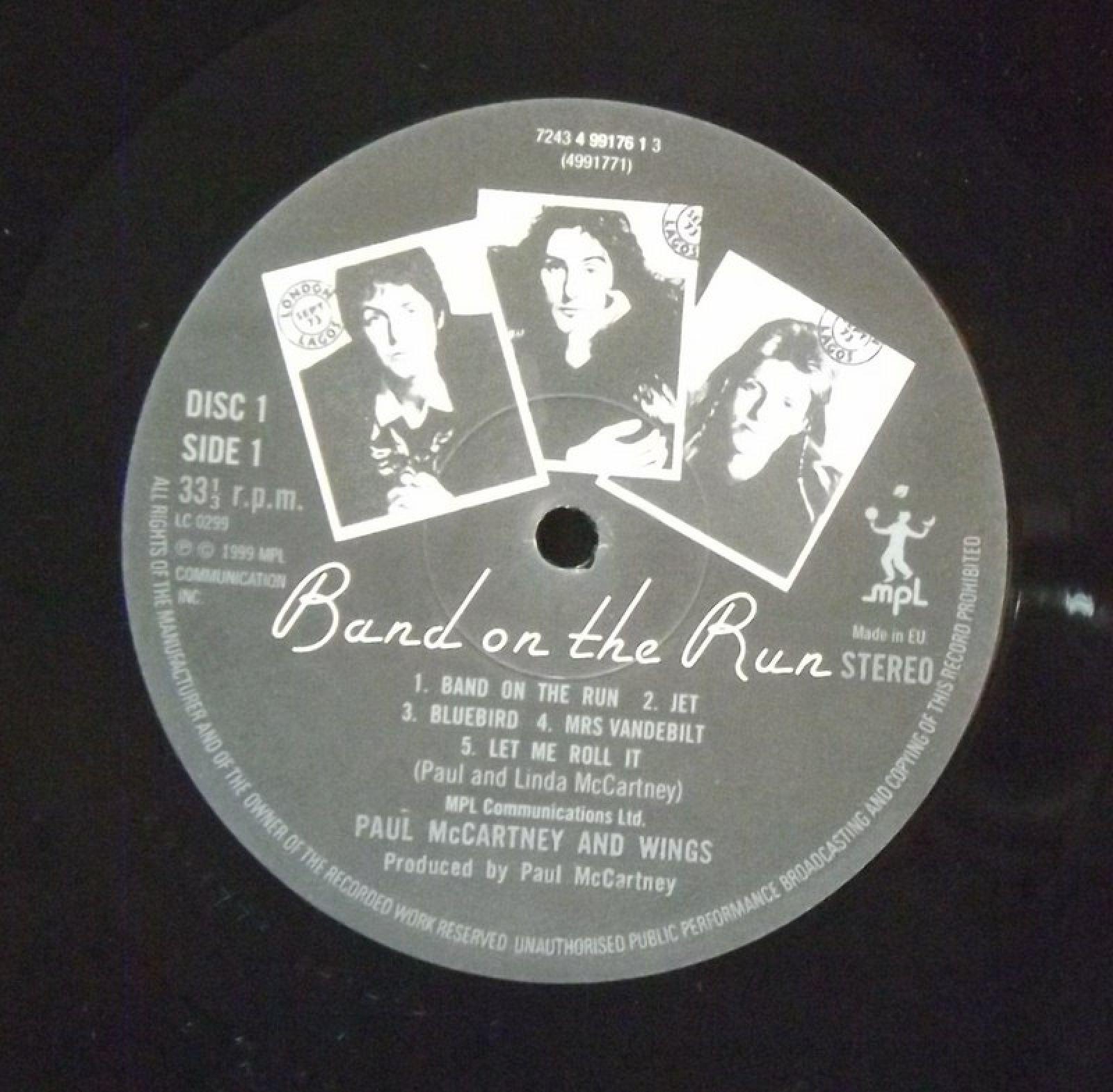 Купить lp Band On The Run McCartney Paul | Интернет-магазин